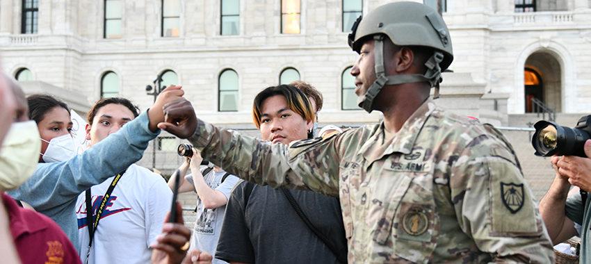 National Guard Troops Refuse Trump's Race War