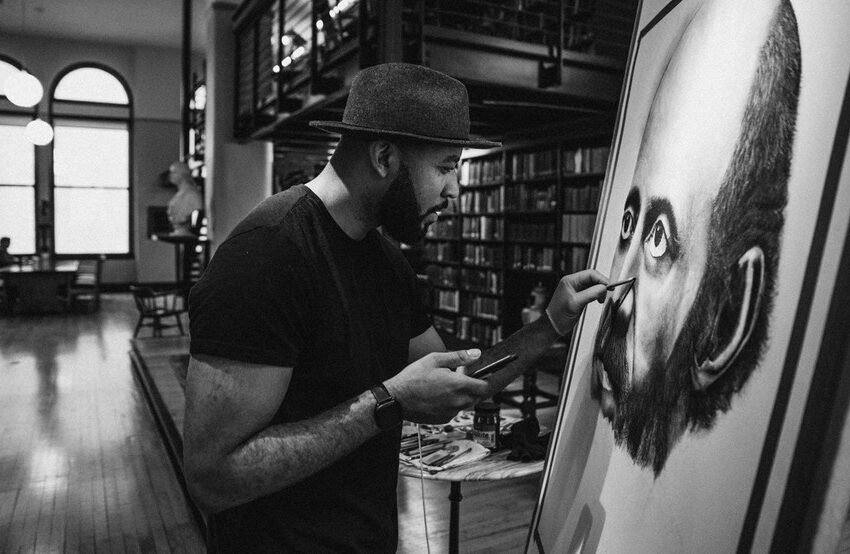 Self-Trained Local Artist Gee Horton's Hyperrealistic Pencil Drawings Will Blow Your Mind
