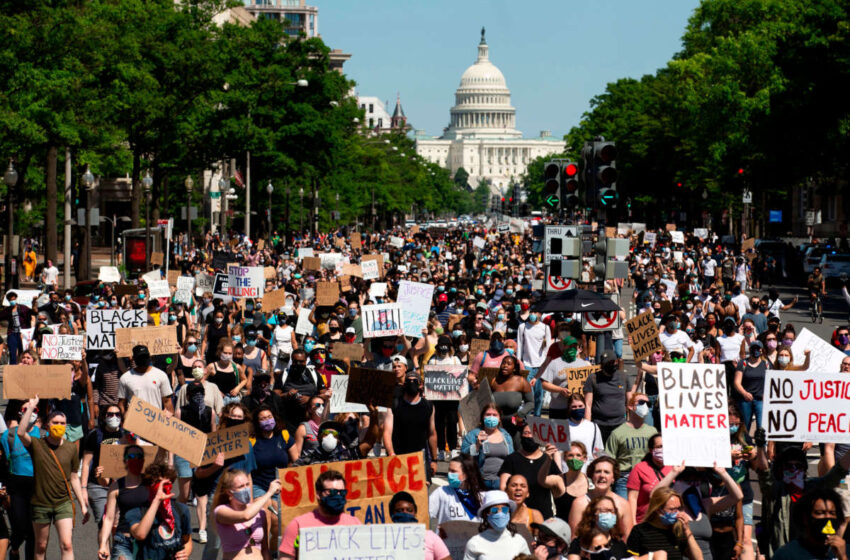 'We cannot stop. We cannot quit': Thousands rally for racial justice at March on Washington