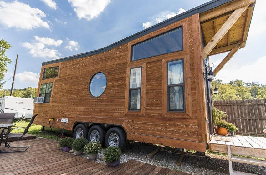 THIS LOCAL COMPANY BUILDS AFFORDABLE TINY HOMES WITH LUXURY FINISHES