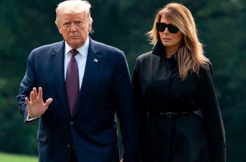 Donald Trump, Melania Trump Test Positive For The Coronavirus